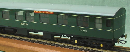 Hand Built 00 gauge Class 126 Swindon Works Dmu Hand